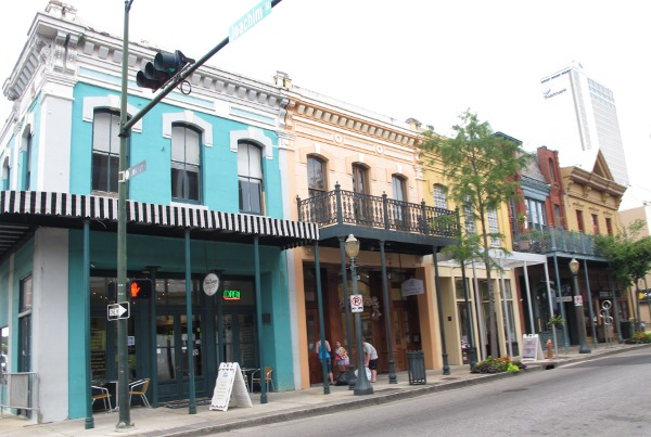Dauphin Street, Mobile (two hours away), New Orleans LA