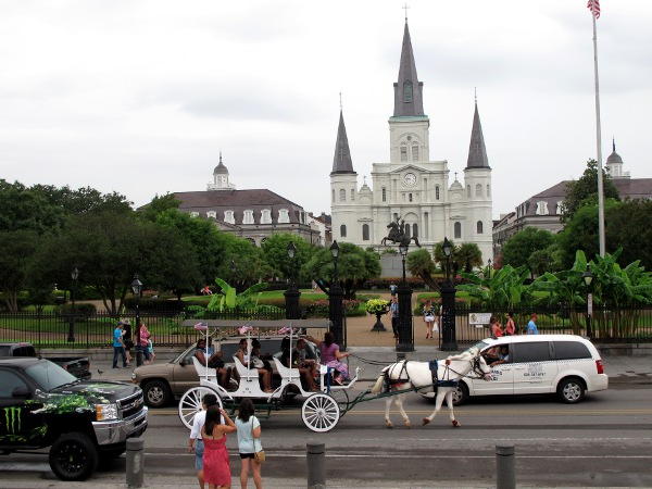 Jackson Square, French Quarter, New Orleans LA