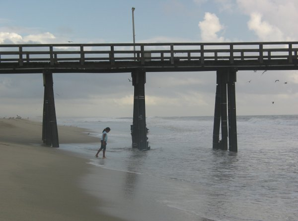 Port Hueneme Pier and Beach, Ventura California