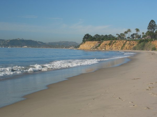 Butterfly Beach, Santa Barbara California
