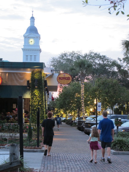 Fernandina Beach town, North Florida FL