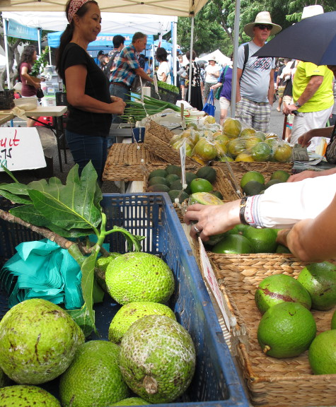Kapiolani Community College Farmers Market, Oahu Hawaii