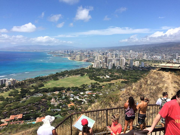 Diamond Head National Monument Hike, Oahu Hawaii