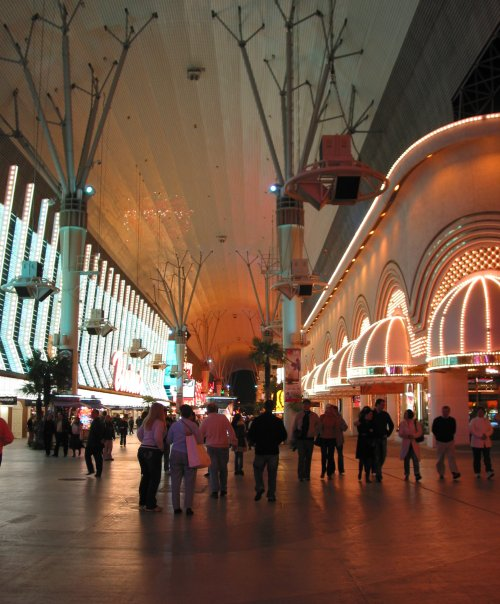 Fremont Street Experience, Downtown, Las Vegas Nevada