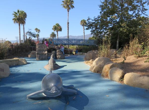 Tomol Interactive Play Area, Carpinteria, Santa Barbara California