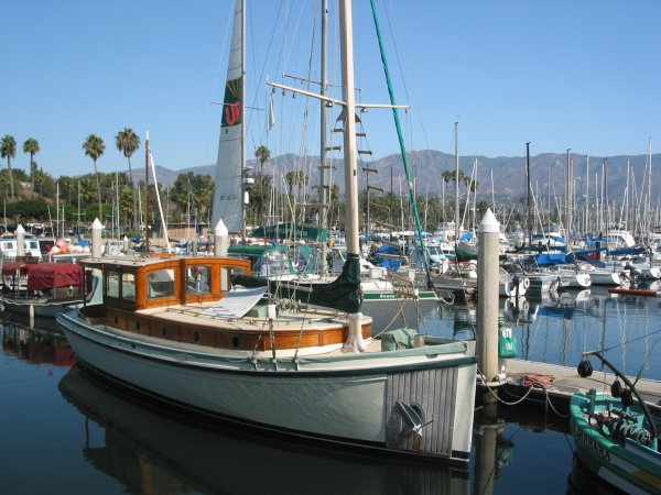 Santa Barbara Harbor, Santa Barbara California