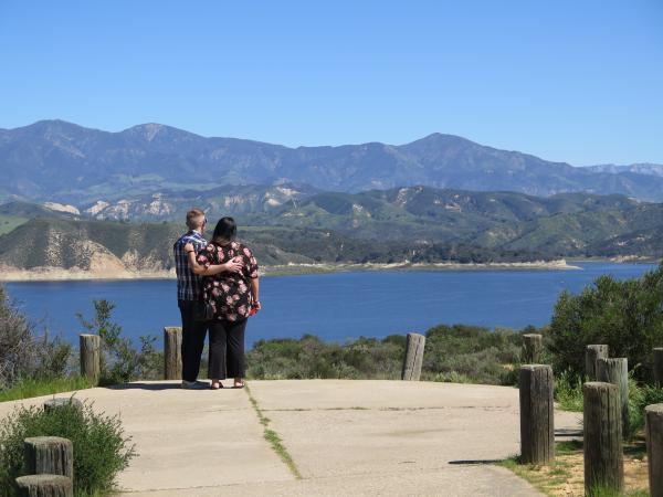 Bradbury Dam Lookout, Santa Barbara California