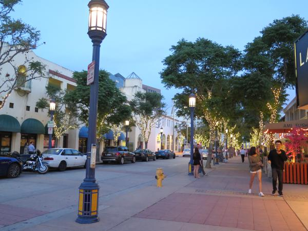 Westwood Village, Los Angeles California