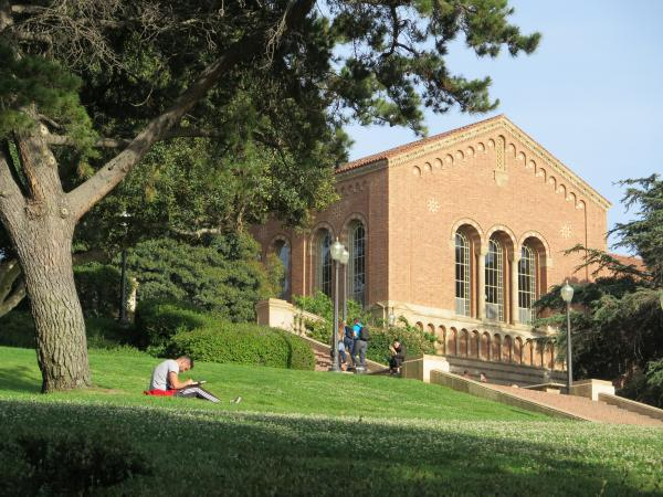 UCLA campus, Los Angeles California