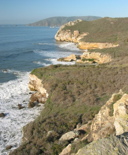 Pirate's Cove and Smuggler's Cave, San Luis Obispo California