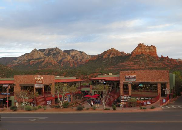 Sedona town, Arizona
