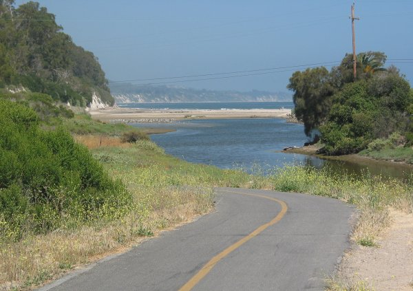 Coast Route Bike Path, Santa Barbara California