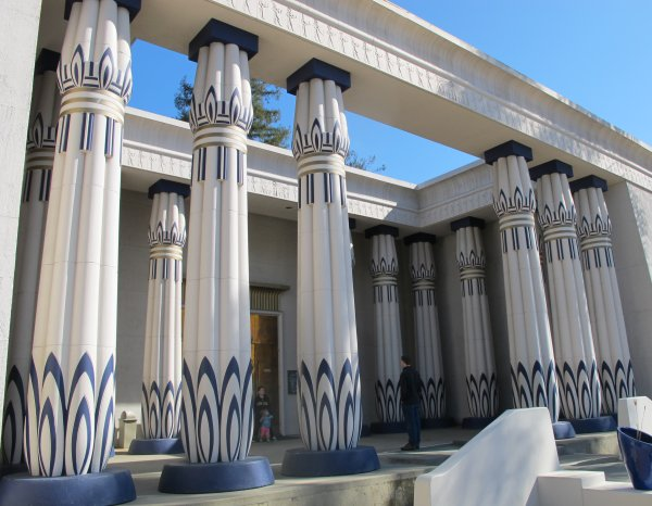 Rosicrucian Egyptian Museum, San Jose, San Francisco California