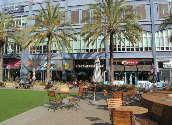 Santana Row, San Jose, San Francisco California