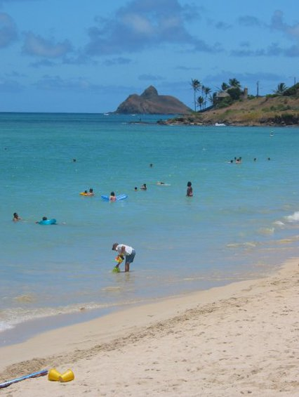 Kailua Beach, Oahu Hawaii