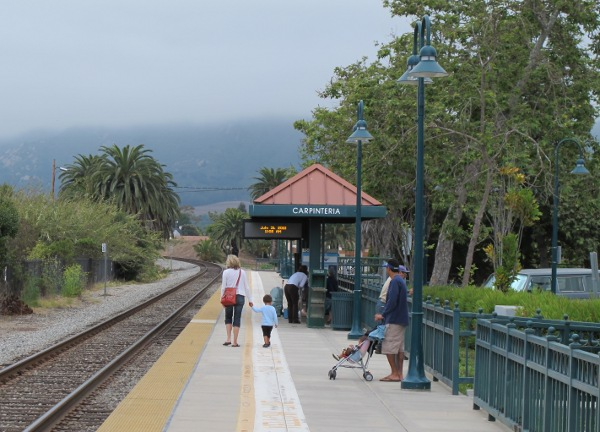 Pacific Surfliner Train Ride, Santa Barbara California