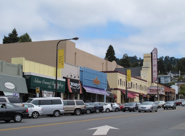 Solano Avenue, North Berkeley, San Francisco California