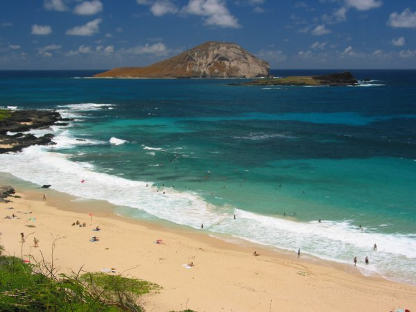Makapuu Beach, Oahu Hawaii