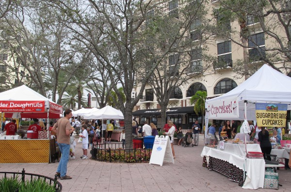 West Palm Beach Green Market, Palm Beach FL