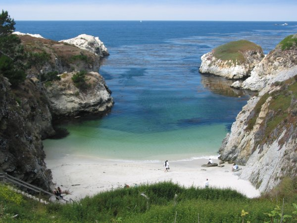 China Cove and Gibson's Beach, Monterey California