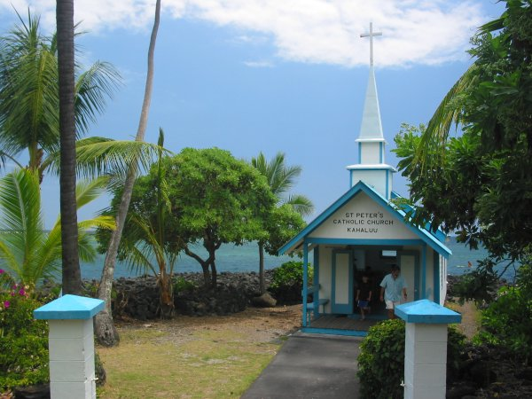 St Peter's Church, The Big Island Hawaii
