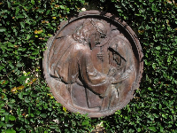One of the 12 Stations of the Cross, by Polasek.