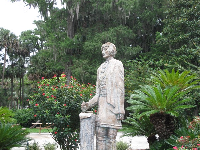 Statue of Chief Osceola.