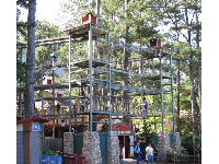 Treetop challenge called SkyHike.