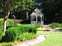Gazebo for weddings at the plantation.