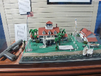 Coast guard station model.