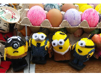 Minion fiesta eggs! Photo by Erin Ferguson.