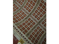 Ceiling in the basilica.
