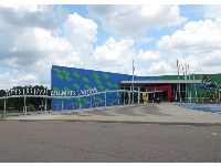 Colorful exterior of the Mississippi Children's Museum.