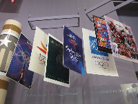 Exhibit about the olympics.