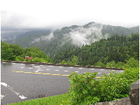 Newfound Gap Road.