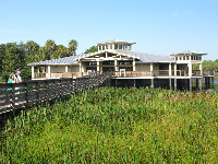 The nature center.