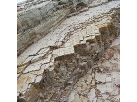 I just can't get enough of the shale and its rectangular shape at Gaviota Beach!