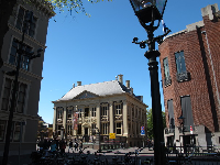 Mauritshuis museum, as you approach it from Plein.