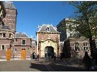 Gate to Binnenhof square.