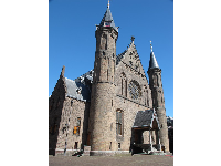 Ridderzaal, Knight's Hall, that sits in the center of Binnenhof.