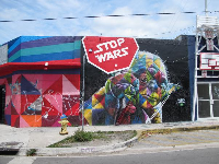 Star Wars graffiti!