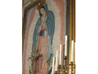 Painting of the Virgin Mary.