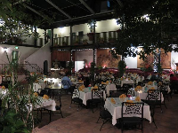 El Paseo Restaurant, a romantic spot where it looks like you're outdoors.