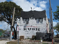 Kush Craft Beer...what a cool building.