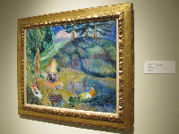 The Lake, an Impressionist painting by William Glackens.
