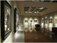 An attractive room in the gallery.