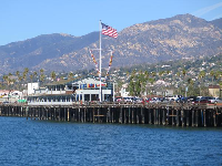 Stearns Wharf is a magical spot.