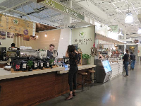 Green Star Coffee, in the Public Market.