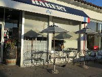 Soak up some morning sun at Paris Bakery Cafe.