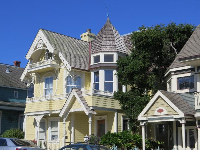 Cute Victorian architecture on Forest Avenue.